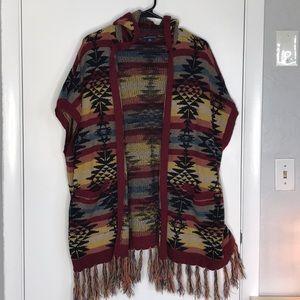 American Eagle oversized cardigan